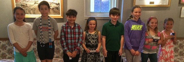 School Board honors Pi Day winners