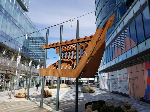 Summit Engineering Ship Sculpture Boston