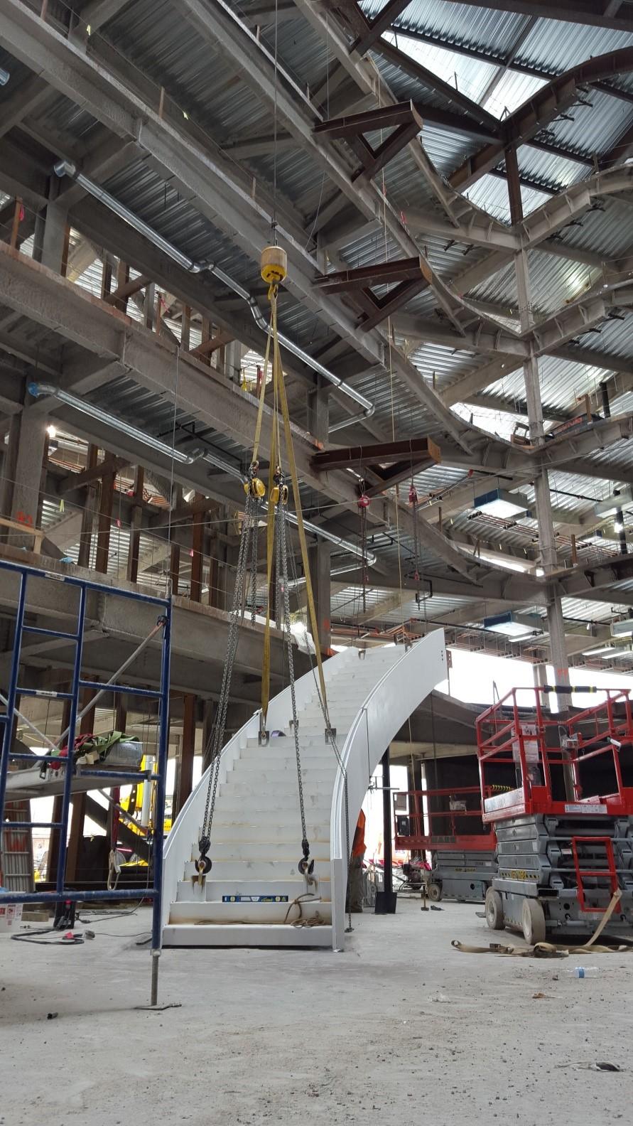 Spiral Stair Northeastern Summit Engineering